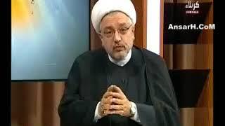 الشيخ محمد كنعان - اموي يقول لإبن أخت أميرالمؤمنين عليه السلام كأنك تفخر بفعال خالك