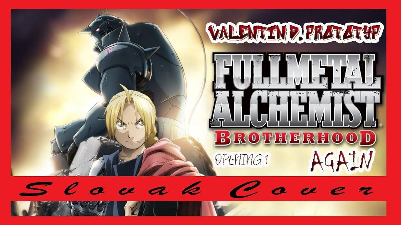 "Slovak Cover Fullmetal Alchemist: Brotherhood OP 1 - ""Again"" - YouTube"