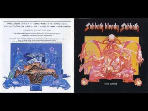 Black Sabbath - A National Acrobat(Lyrics)