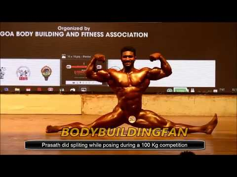 Prasath S - Bodybuilding Champion - Indian Bodybuilder Profile Bodybuilding Championship India