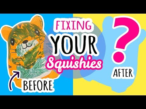 Squishy Makeover: Fixing Your Squishies #10