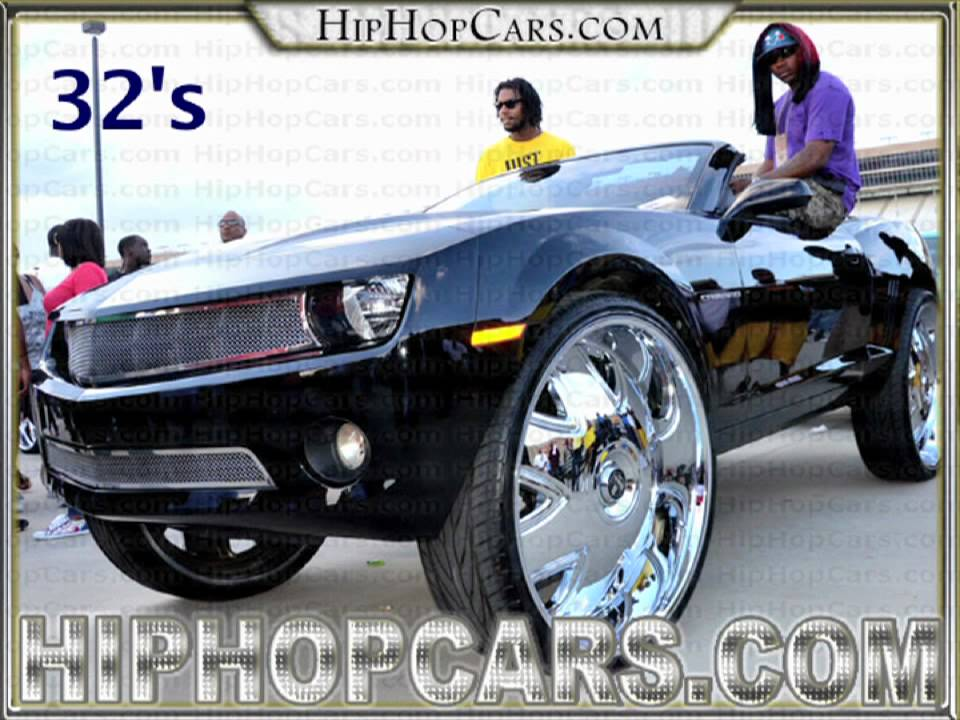 Camaro On Inch Rims Big Inch Wheels On Chevy Camaro Youtube