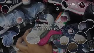 Adidas Alphabounce size 36 - 40 sepatu wanita olahraga sports running lari sekolah hitam tosca peach