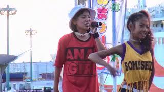 西凜華「HEART BEAT (加藤ミリヤ)」2017/08/13 CRYSTAL RAINBOW PARTY 4 海辺のステージ