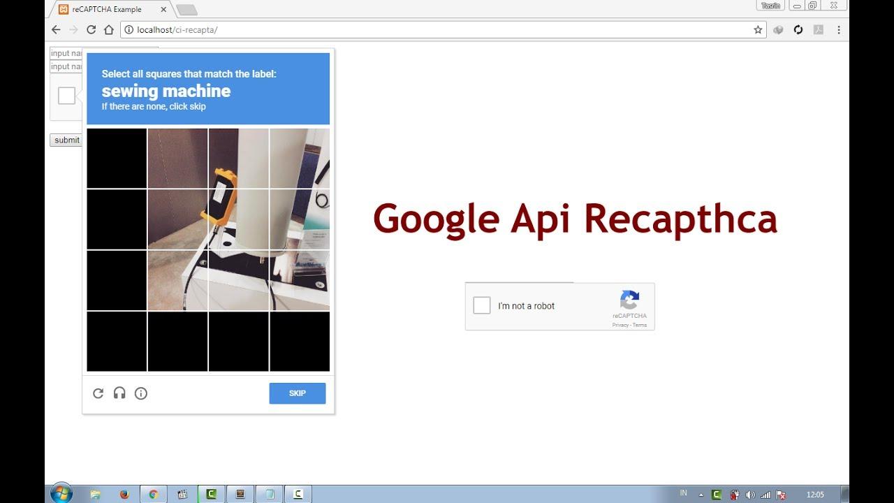 Codeigniter 3 Tutorial | Create a Google Fire Recaptcha Validation