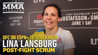 UFC Stockholm: Lina Lansberg Says Win Over Tonya Evinger Was One Of 'Greatest Moments' Of Her Life