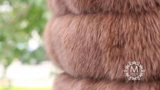 Меховой жилет. Купить меховой жилет из песца. Москва, Спб, Екатеринбург(, 2016-09-03T08:41:12.000Z)