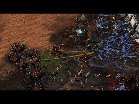 Össy (Z) v PengWin (Z) on - Kairos Junction - StarCraft 2 - Legacy of the Void 2018