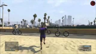 GTA 5 Local Task Running Swimming Bicycle Race