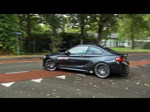460HP BMW M2 F87 with Akrapovic - EPIC Drifts, Donut and Accelerations!