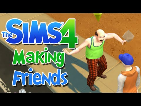 Sims 4: MAKING FRIENDS - Part 1 (1080p)