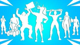 Top 50 Legendary Fortnite Dances & Emotes! (Flake Shake, Monkey Mosh, Sideways Shift, Charlotte..)