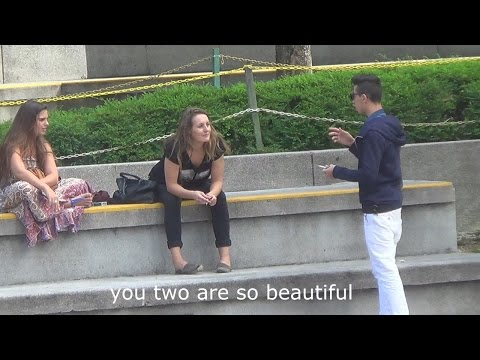 Speaking Arabic to people - Confusing people prank