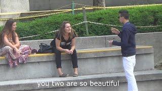 Speaking Arabic to people - Confusing people prank
