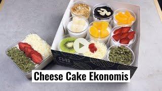 LOLOS JERATAN HUTANG DENGAN JUALAN CHEESE CAKE PUDING EKONOMIS