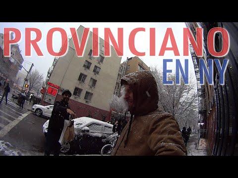 Gangsters BAJO LA NIEVE   Provinciano en NY