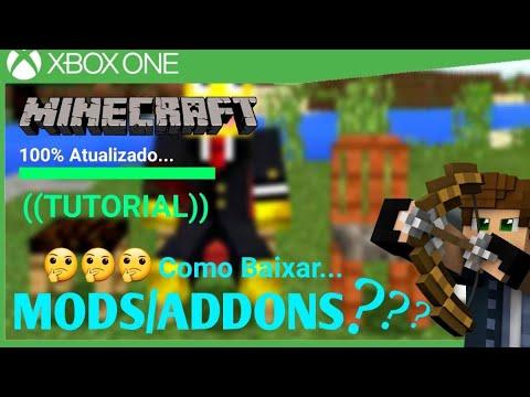 Como Baixar E Instalar Mods/Addons No Minecraft De Xbox One (METODO ATUALIZADO)