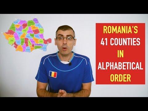 ROMANIA'S 41 COUNTIES
