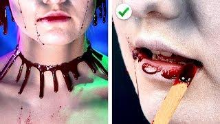 5 Amazing Halloween Makeup & Costume Ideas! Last Minute Halloween DIY