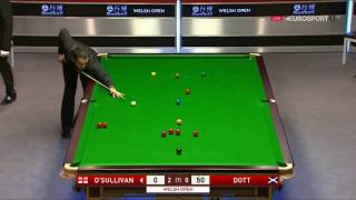 Ronnie o'sullivan clearance Vs Graeme Dott •R2• |Welsh Open 2018|