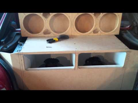 Caja turbo 12'' con medidas Fiesta