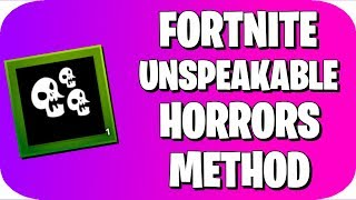 How to Get the Unspeakable Horrors Banner in Fortnite!