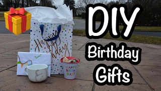 DIY Birthday Gifts!|Cheap & Affordable gifts for friends & family|HeyItsAinsley