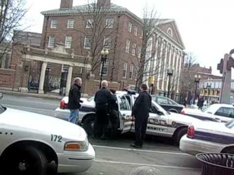 Harvard University police arrest woman who tries to fight back in Harvard Square