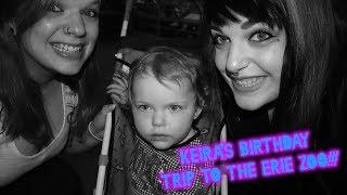 Keira's Birthday Trip To The Erie Zoo!!