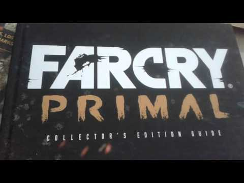 Far Cry Primal Collector's Edition Prima Games Guide Unboxing