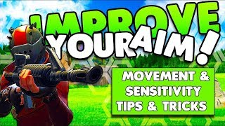 Fortnite Tutorial: How to use an AR Correctly!! Abuse Aim Assist (PS4/Xbox)