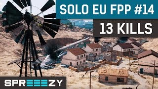 EU FPP Solo Game #14 | 13 Kills Win | First Win After Comeback :) thumbnail