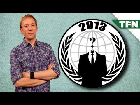 ANONYMOUS: Hacktivist Plans for 2013
