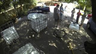 House4hack Aquaponics Build 550l