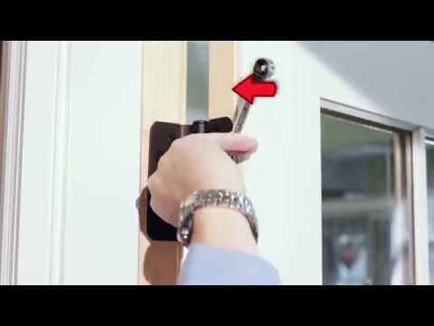 Marvin French Door - How to Adjust the Hinges