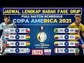Jadwal Copa America 2021 | Jadwal lengkap Babak Fase Grup | Argentina | Brazil | Live Bein Sport