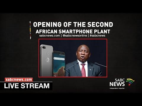 President Ramaphosa opens