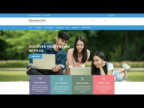 How to Make a WordPress Website - with Education Zone WordPress Theme
