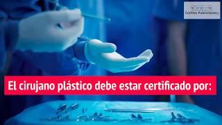 Aviso de falsos cirujanos plásticos