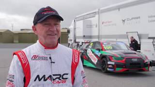 Russell Ingall tests TCR car at Mallala Motorsport Park