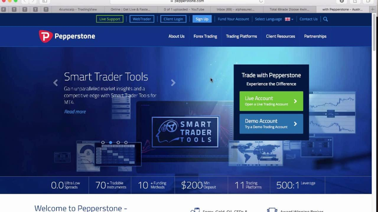 Create demo account forex