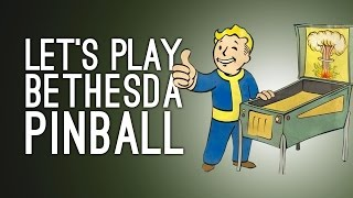 Bethesda Pinball FX2 Gameplay - Fallout, Skyrim, Doom Pinball Tables