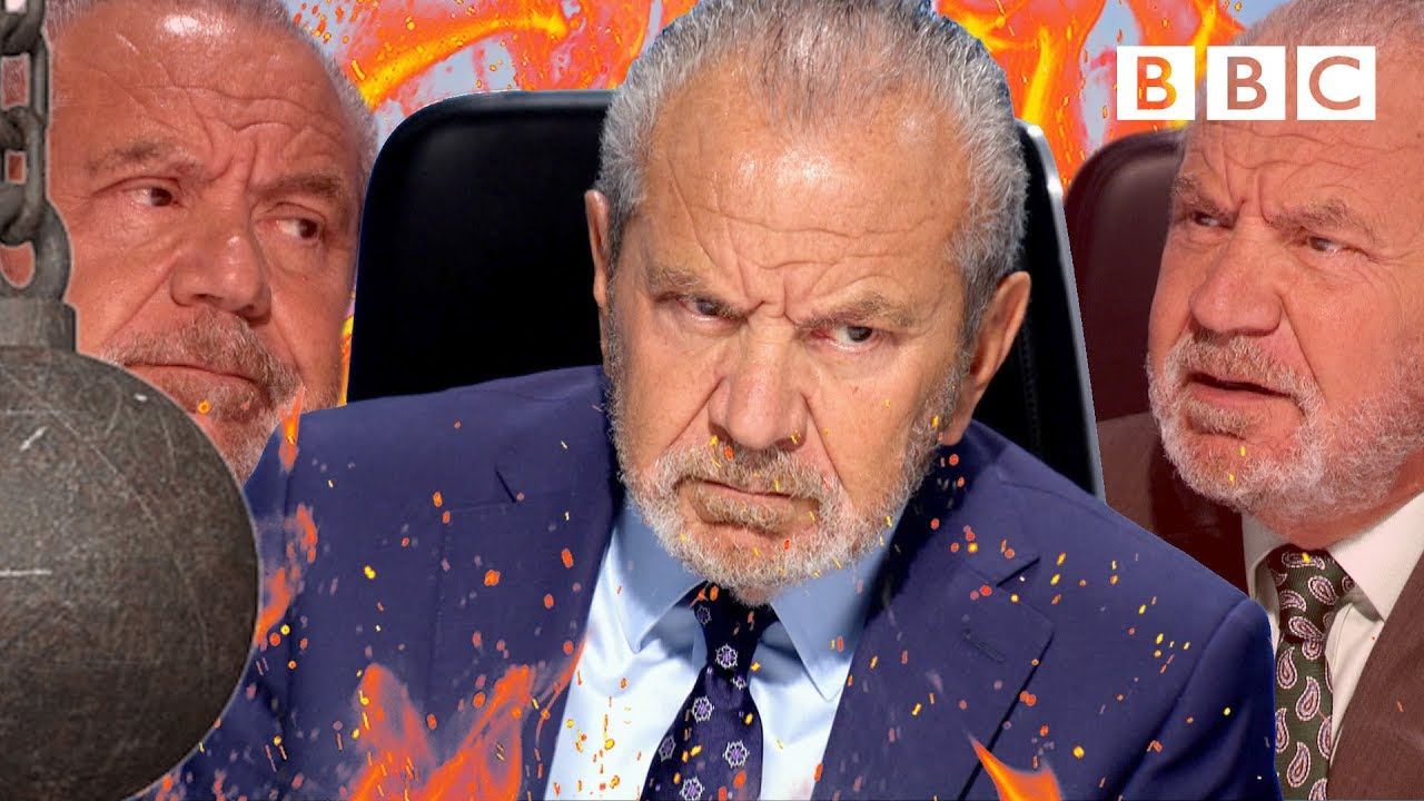 Lord Sugar WRECKS the apprentices with facts and logic - BBC