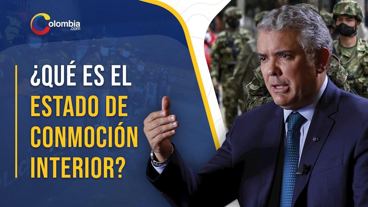La conmoción interior, el otro nombre de la dictadura. Estado De Conmocion Interior En Colombia Que Funciones Otorgaria A Ivan Duque Paro Nacional Youtube