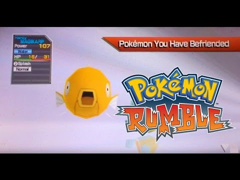 LIVE Shiny Magikarp in Pokemon Rumble! My Longest Rumble Hunt Yet! 350+ Runs!