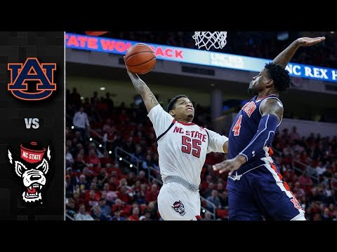 Auburn vs. NC State Basketball Highlights (2018-19)
