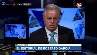 """Comentario editorial de Roberto García en su programa """"La mirada"""" - 12/03/18"""