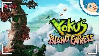 Yoku's Island Express PL #7 - obeszliśmy buga i jedziemy dalej! ♥ | Zapis LIVE