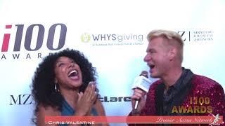 Shelea Music w Chris Valentine i100 Awards