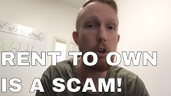 How rent to own is a scam